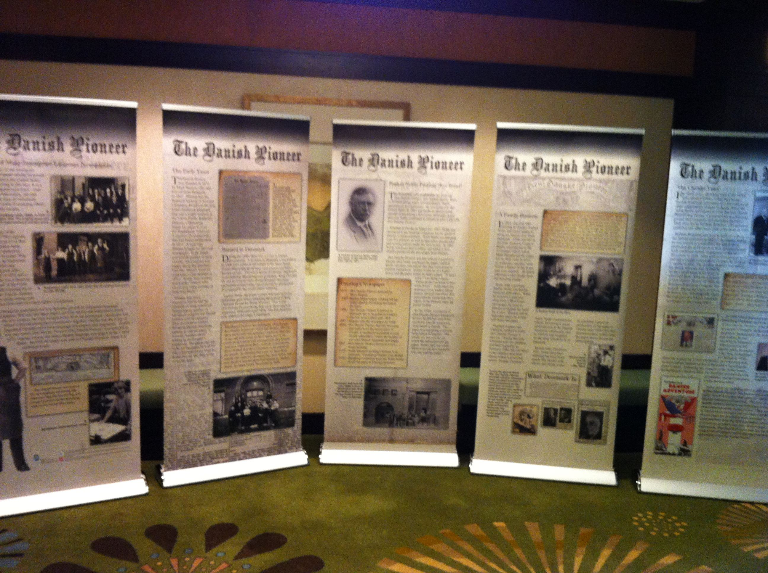 Exhibition Display Panels : Traveling exhibits available from museum of danish america