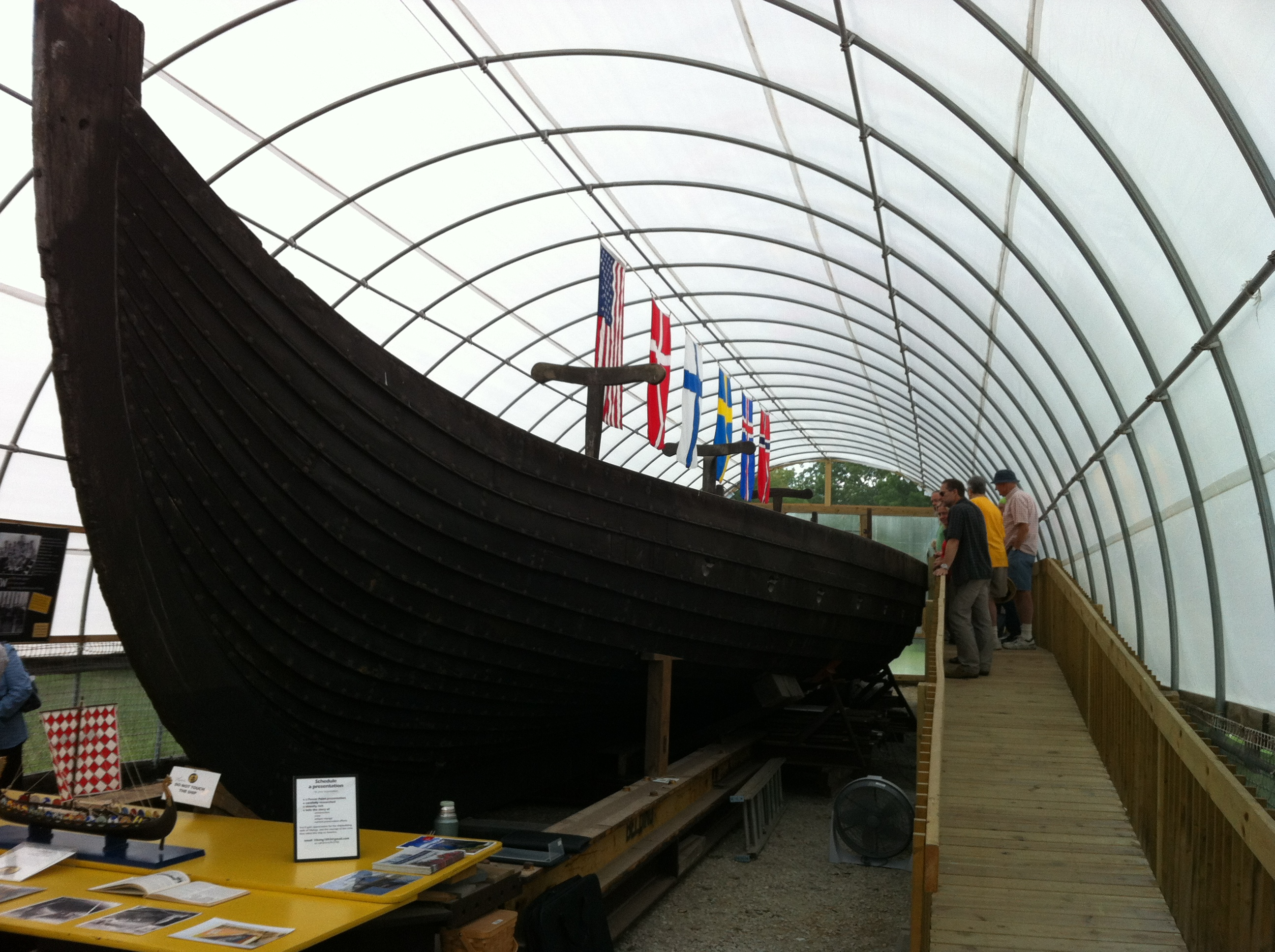 From norway to chicago 1893 viking ship officially for M park geneve