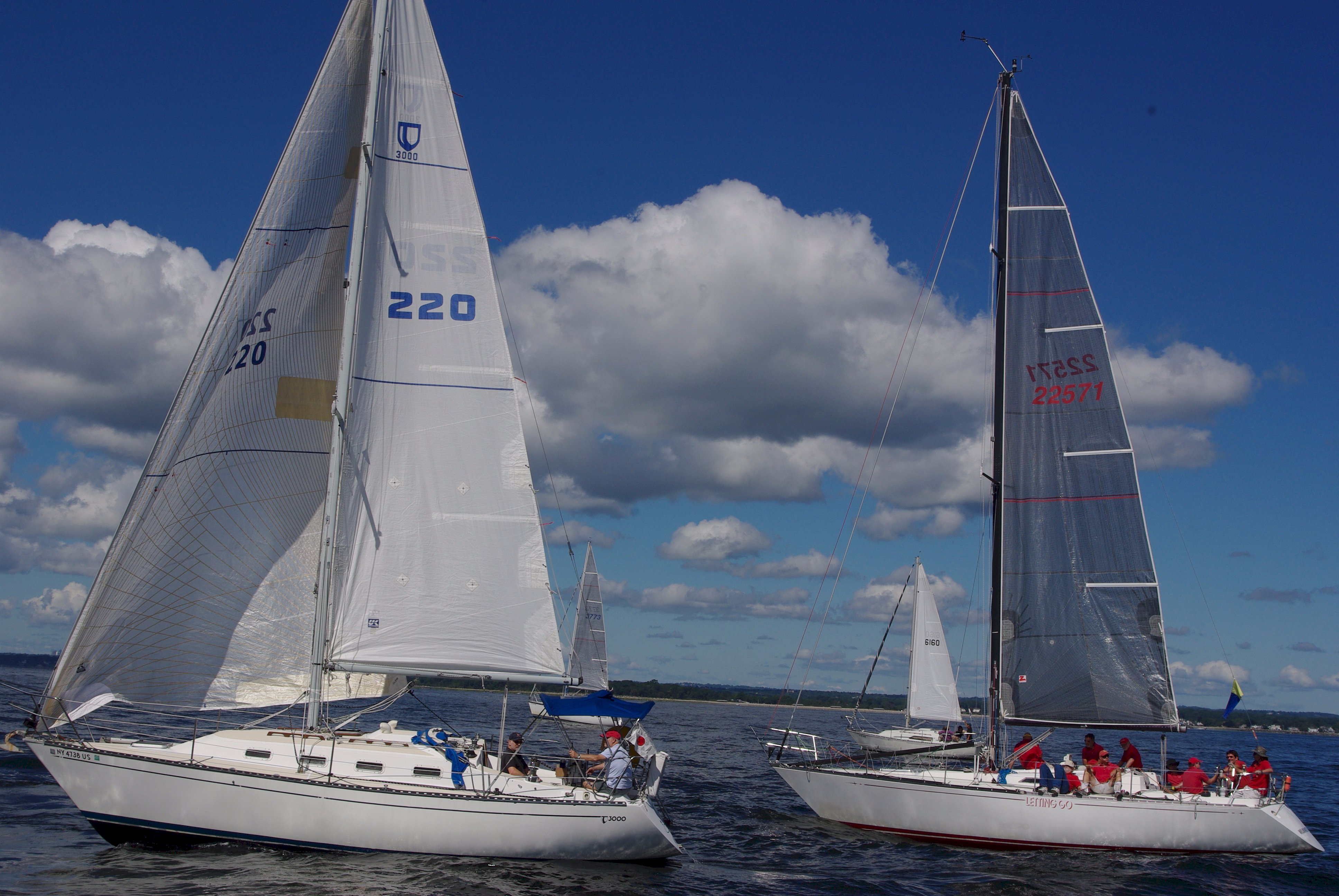 On Sunday, September 9th, 2012, 84 boats participated in the 47th Valeur-Jensen Stamford Denmark Race. (File Photo by Kirsten Vibe Philippides)