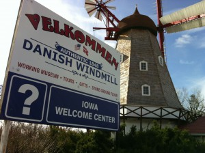 The Danish Windmill in Elk Horn, Iowa greets visitors to the Danish Villages. (Photo by Linda Steffensen)