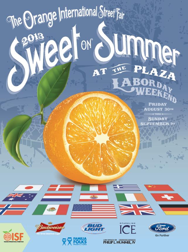 Orange International Street Fair  Food