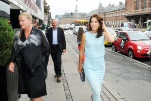 Crown Princess Mary in Copenhagen, Denmark. (File Photo by Hasse Ferrold, The Danish Pioneer's Staff Photographer)