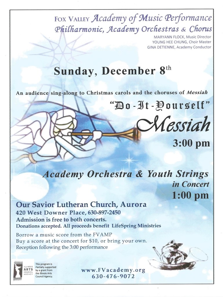 Do it yourself messiah planned in aurora illinois on sunday jonishaw xmas2013 solutioingenieria Gallery