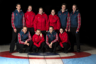 The Danish Men's and Women's Curling Teams are competing at the 2014 Winter Olympics in Sochi, Russia. (Photo courtesy of Lars Moller and Lars Schram for DIF and Team Danmark)