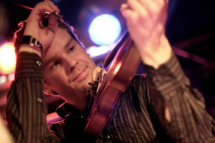 Danish fiddler Kristian Bugge (Photo by Sophie Bech)