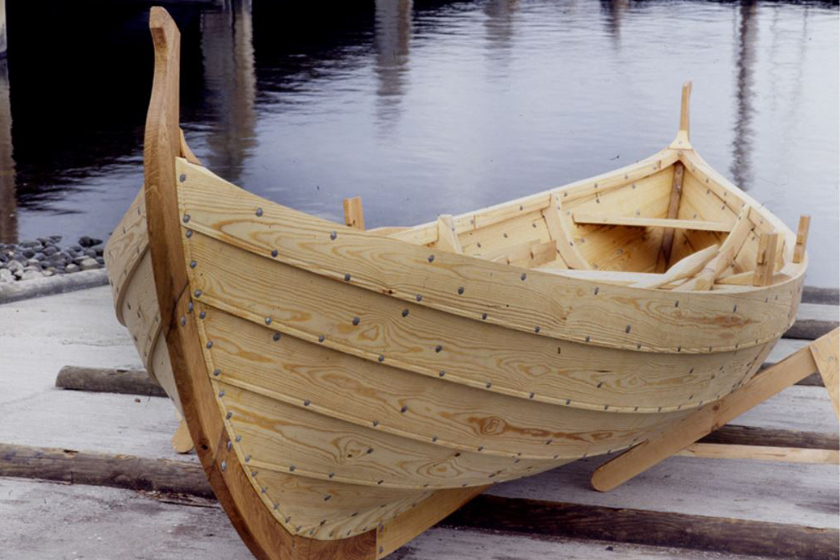 The Viking Ship Museum in Roskilde, Denmark offers you the chance to order your own authentic ...