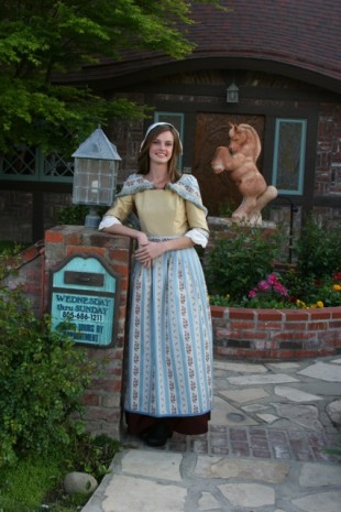 2014 Danish Maid Angelique Heron (Photo courtesy of the Solvang Danish Days Board)