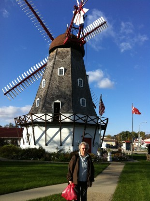 The Danish Windmill in Elk Horn, Iowa. (Photo courtesy of The Danish Pioneer Newspaper)