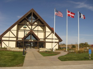 Welcome to the Museum of Danish America in Elk Horn, Iowa. (Photo courtesy of The Danish Pioneer Newspaper)