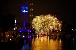 Enjoy the lights and holiday atmosphere at Tivoli in Copenhagen. (CLICK TO ENLARGE IMAGE - Photo courtesy of Tivoli)