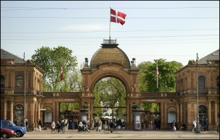 Tivoli's Main Entrance in Copenhagen, Denmark. (File photo courtesy of Tivoli)