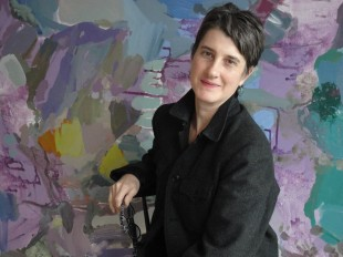 Artist Rebecca Allan (Photo courtesy of Indiana University-Purdue University Indianapolis)