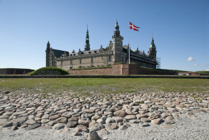 Kronborg Castle in Denmark viewed from the sea. (Photo courtesy of Thomas Rahbek/Kronborg)