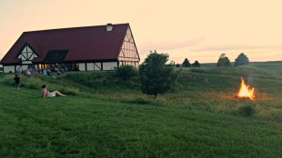 The Museum of Danish America in Elk Horn, Iowa celebrates Midsummer Danish-style. (Photo courtesy of MoDA)