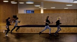 The Danish Sports Federation is promoting movement and exercise in schools. (Photo courtesy DIF)